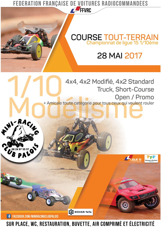 Course tt 1/10 ligue à Pau le 28 mai 2017 Affiche-MRCP-28-05-2017-web
